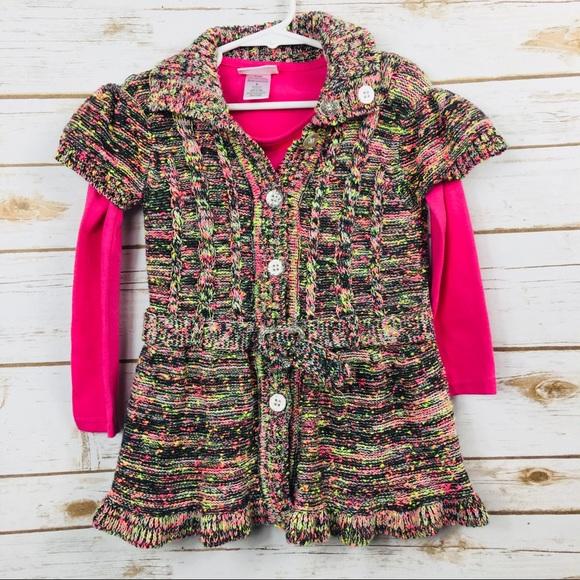 e498bcf3057f Little Lass Other - Little Lass Multi-Color Sweater & Long Sleeve Top